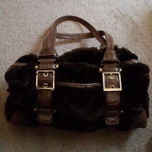 Kathy fur handbag
